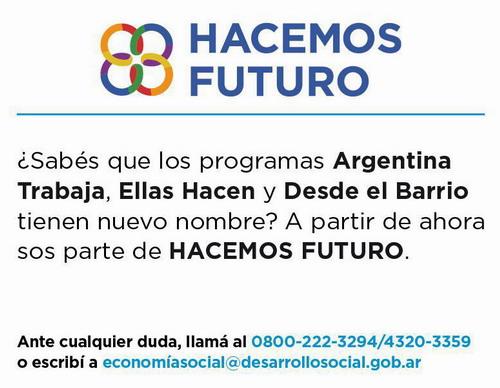 inscribirse al Programa Hacemos Futuro