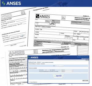 Listado de formularios de ANSES para descargar