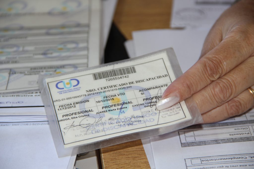 Cómo obtener el Certificado Único de Discapacidad