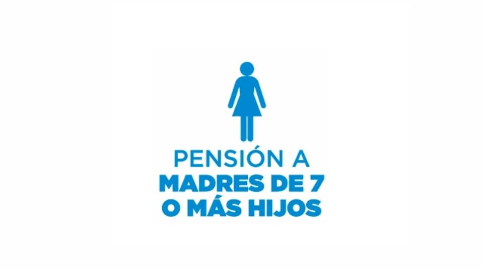 Nuevos Requisitos Pensión Madre de 7 hijos