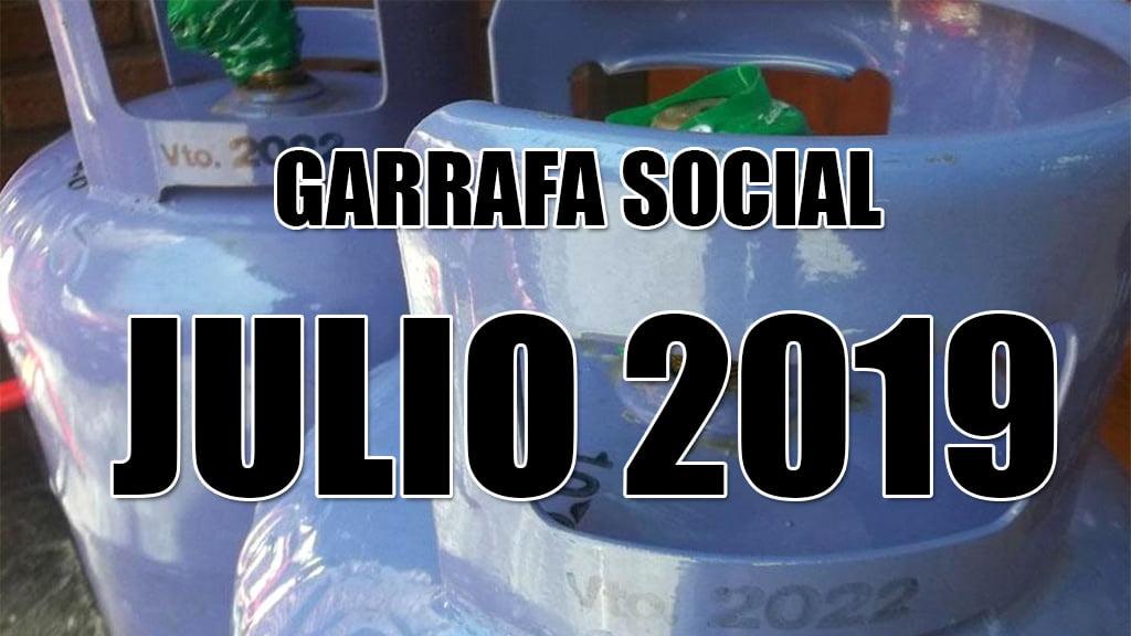 Calendario de pago Garrafa Social JULIO