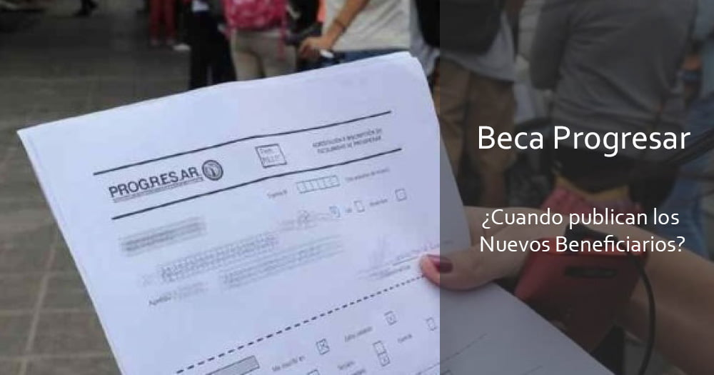 Beneficiarios de la Beca Progresar