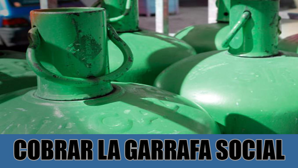 Cobrar la GARRAFA SOCIAL