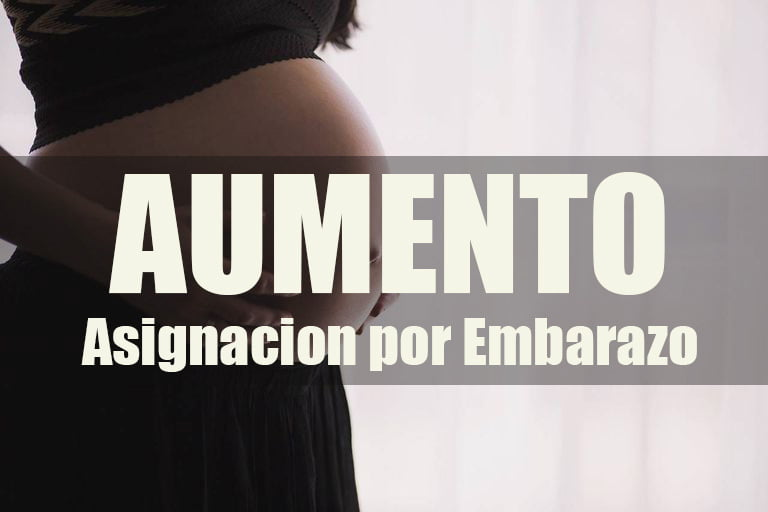 Aumento para Asignación por Embarazo