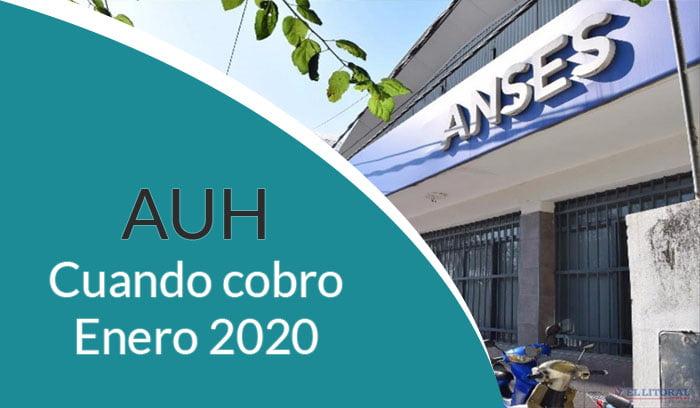 Fechas de pago Asignación universal por hijo ENERO 2020