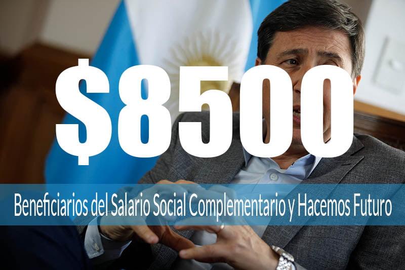 Programas sociales cobraran $8500 en Diciembre