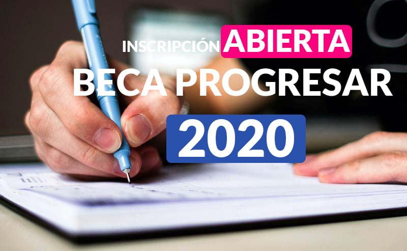 Inscripción para las Beca Progresar 2020