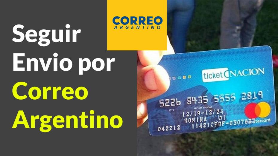 Tarjeta Alimentaria por Correo Argentino