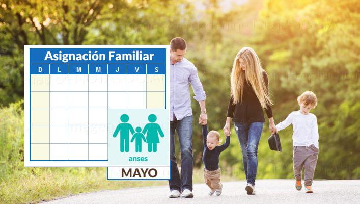 Asignación Familiar Mayo