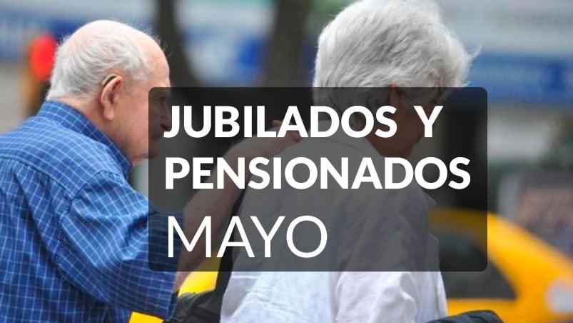Jubilados y Pensionados Mayo