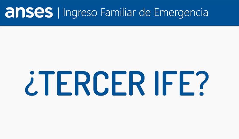 TERCER IFE