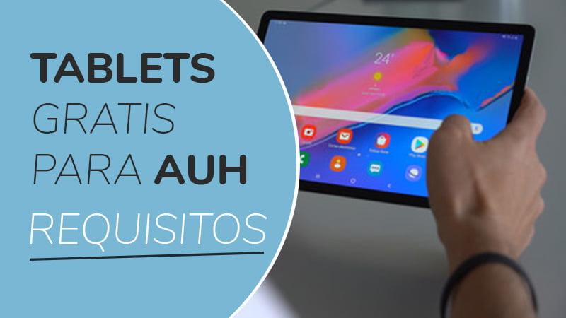 Tablet gratis para AUH