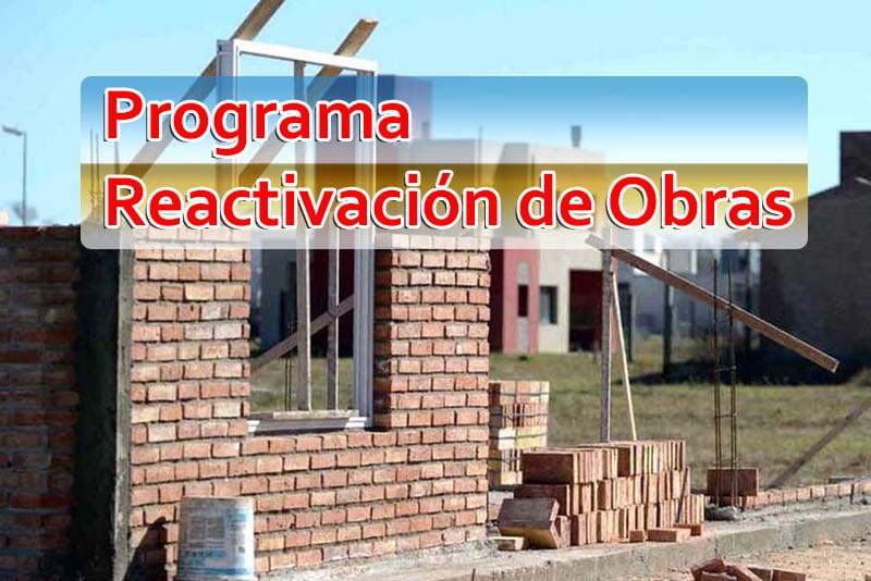 Programa de Reactivación de Obras