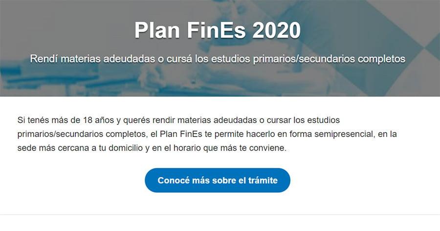 Terminar el secundario con Plan Fines