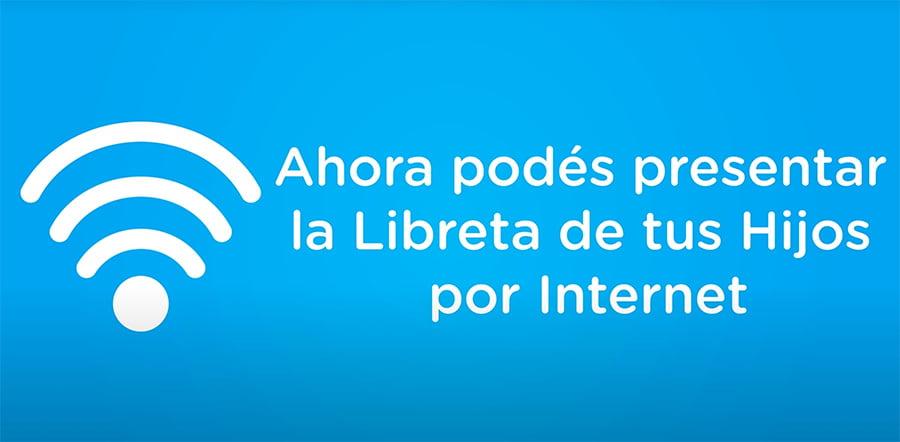 cargar la Libreta AUH por Internet
