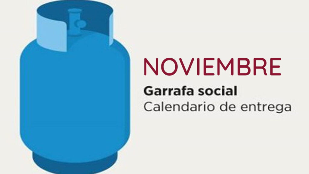 Garrafa Social Noviembre 2020