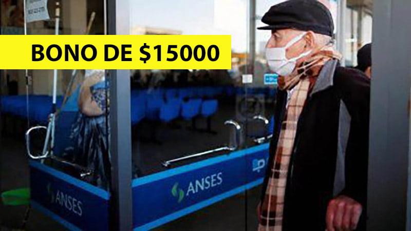 ANSES Bono de $15.000